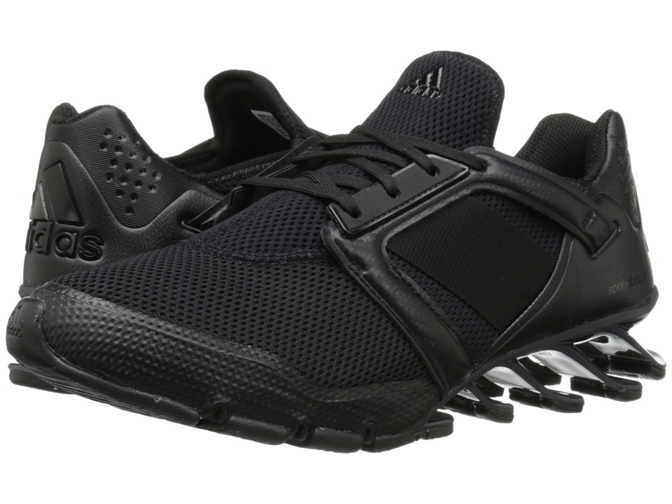 adidas - Springblade E-Force (Black/Black/Black) Men's Shoes