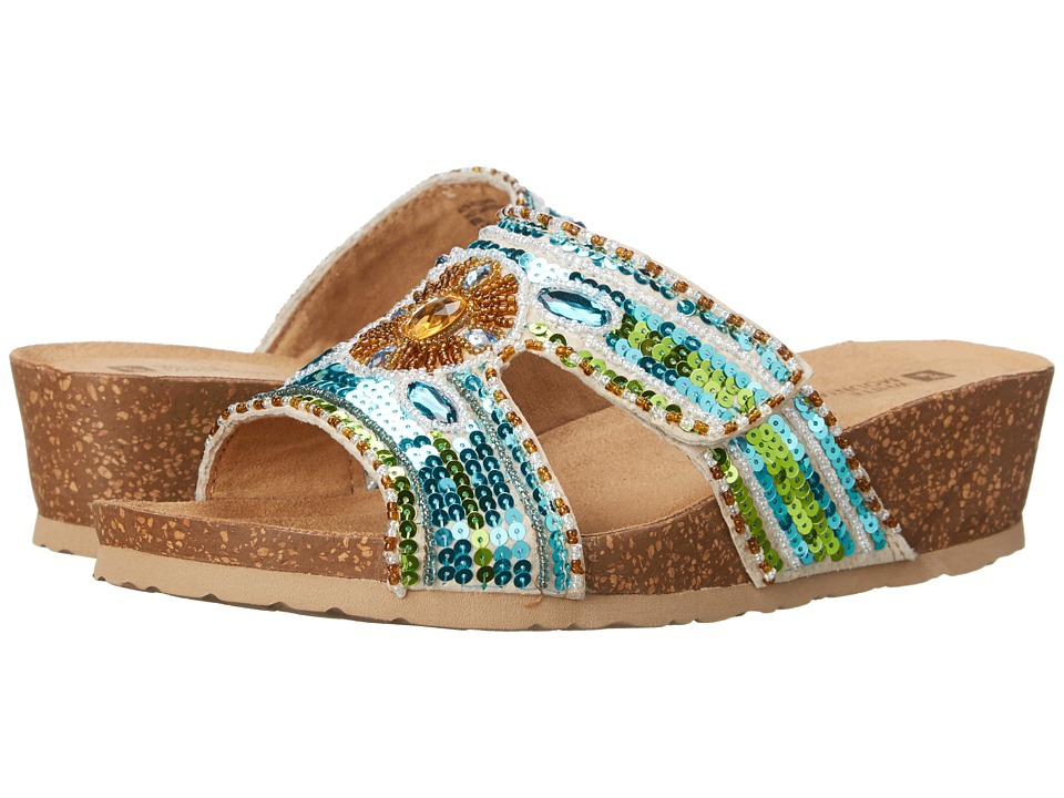 White Mountain - Best (Blue/Green) Women's Shoes