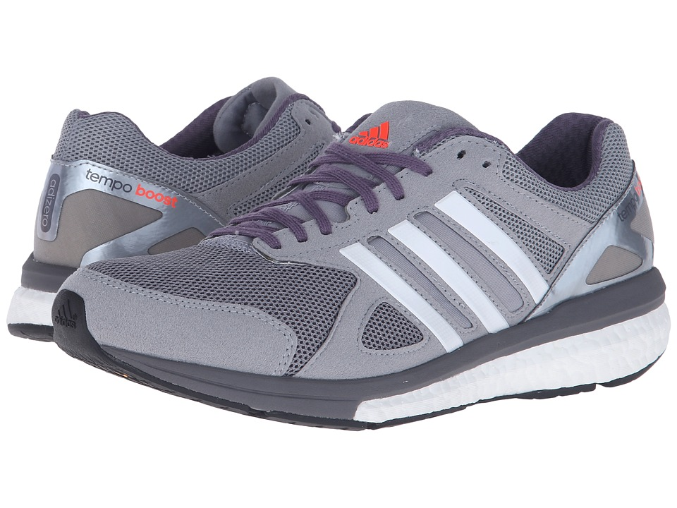 adidas - Adizero Tempo 7 (Mid Grey/White/Black) Women's Shoes