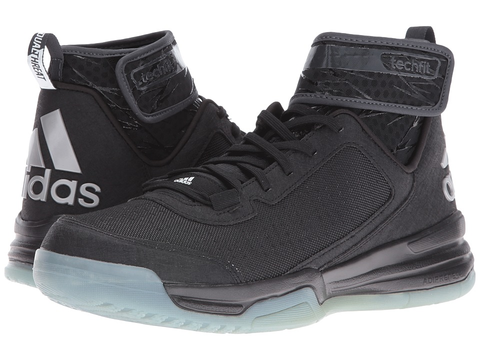 adidas - Dual Threat BB (Black/White/Frozen Blue) Men's Shoes