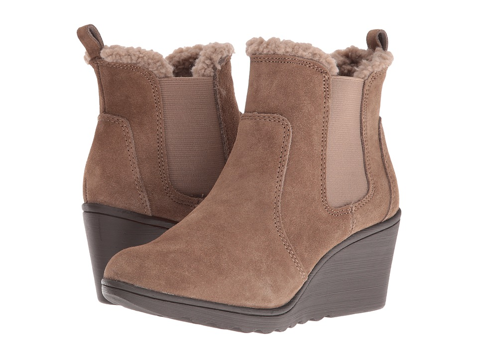 White Mountain - Kickoff (Taupe) Women's Shoes