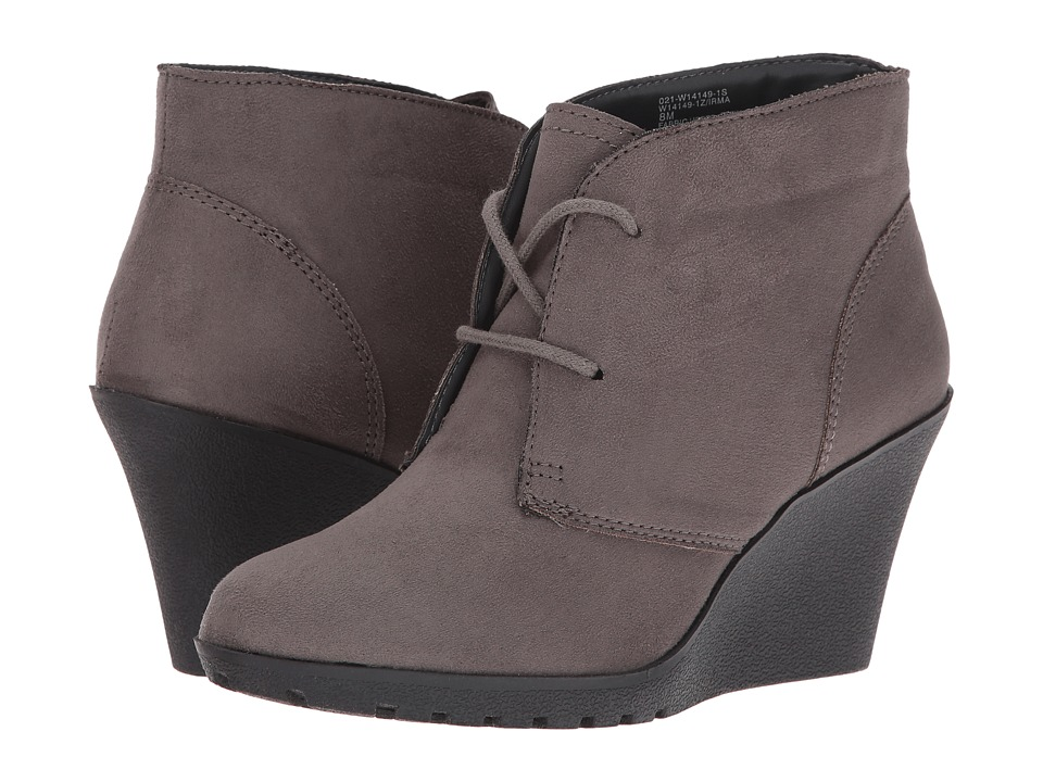 White Mountain - Irma (Charcoal) Women's Lace-up Boots