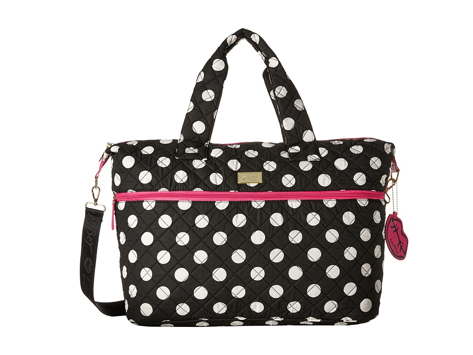 Luv Betsey - Dayer Weekender (Black Dot) Weekender/Overnight Luggage
