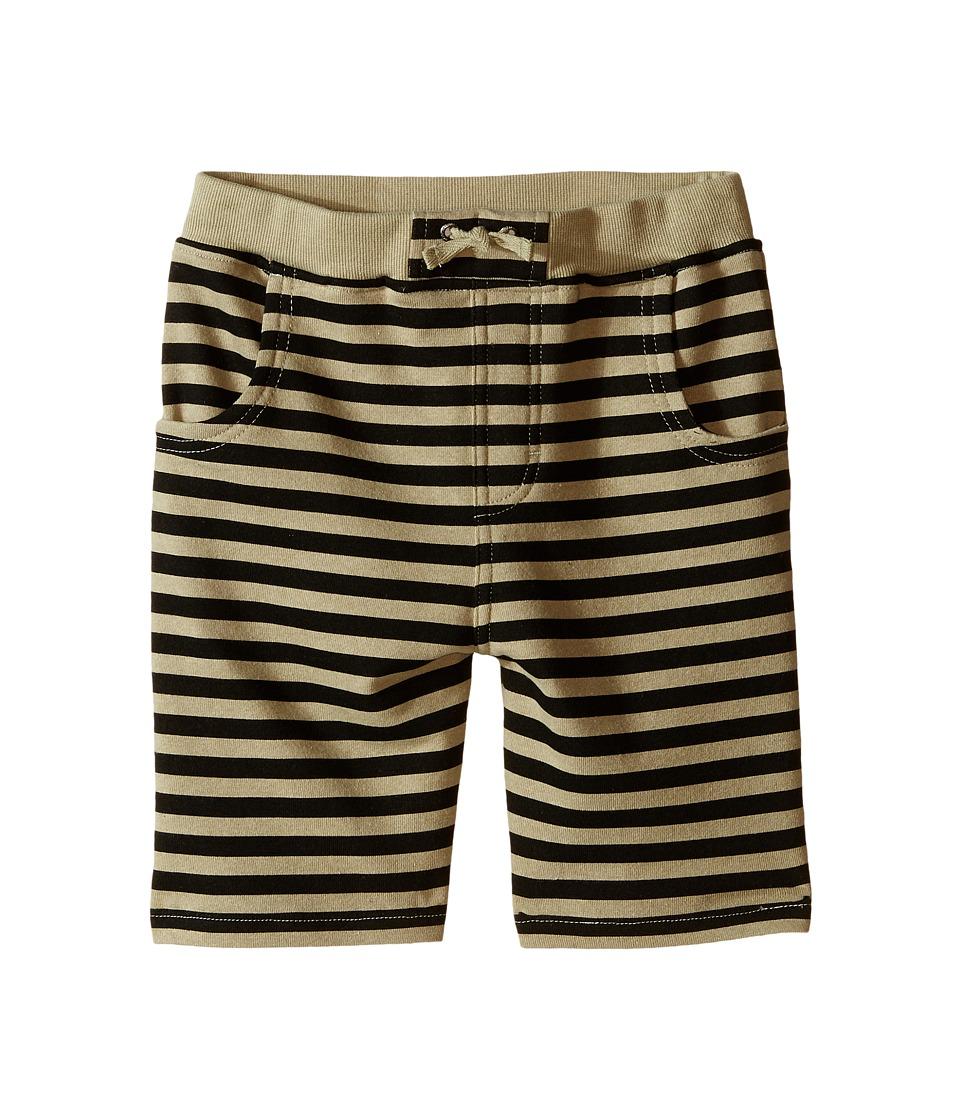 Kardashian Kids - Knit Stripe Shorts (Toddler/Little Kids) (Green/Black) Boy's Shorts