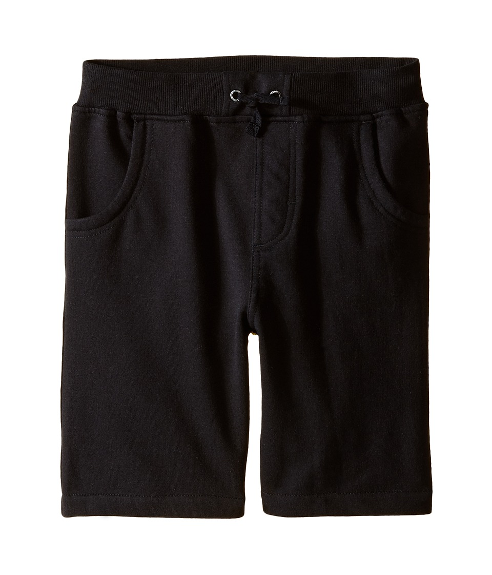 Kardashian Kids - Knit Yardage Shorts (Toddler/Little Kids) (Black) Boy's Shorts