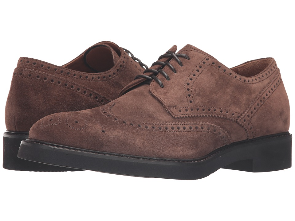 Aquatalia - Trevor (Brown Suede) Men's Shoes