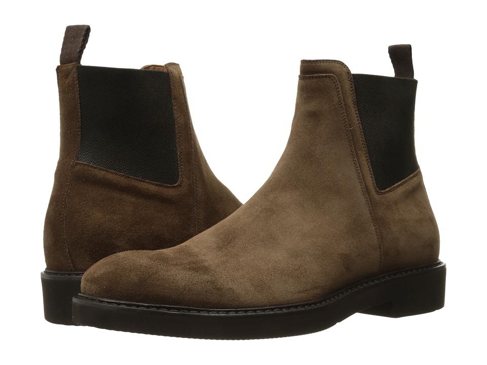 Aquatalia - Tristan (Brown Suede) Men's Shoes
