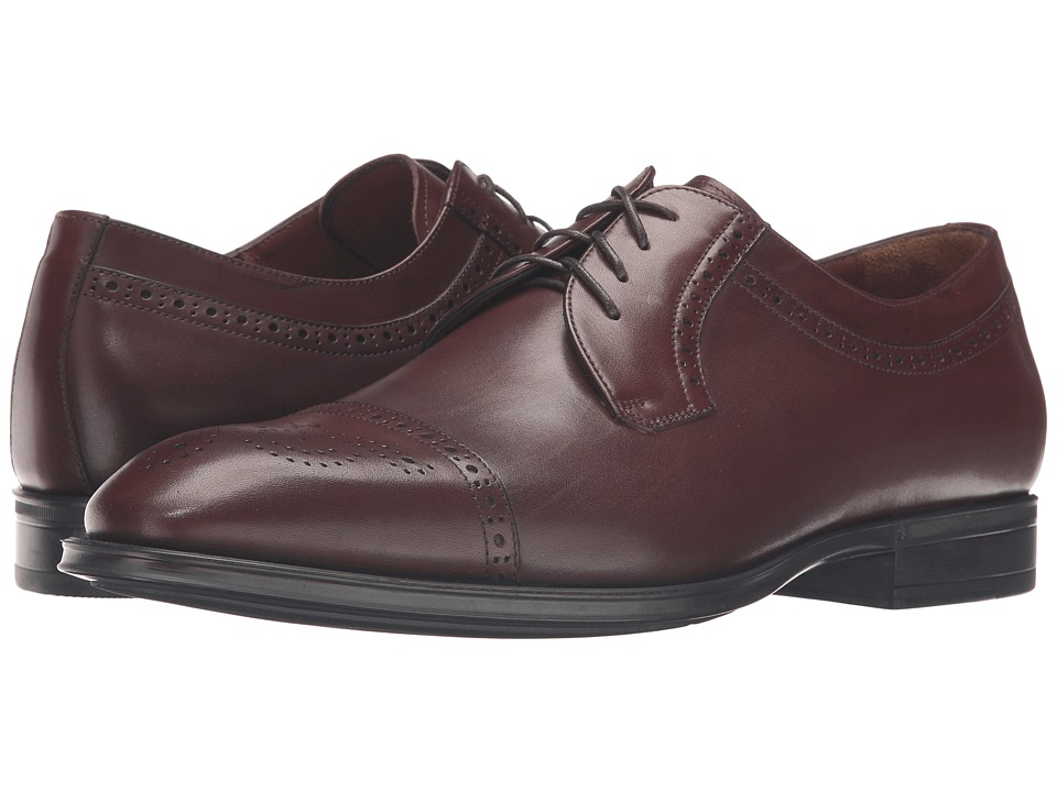 Aquatalia - Duke (Burnished Cognac Dress Calf) Men's Shoes