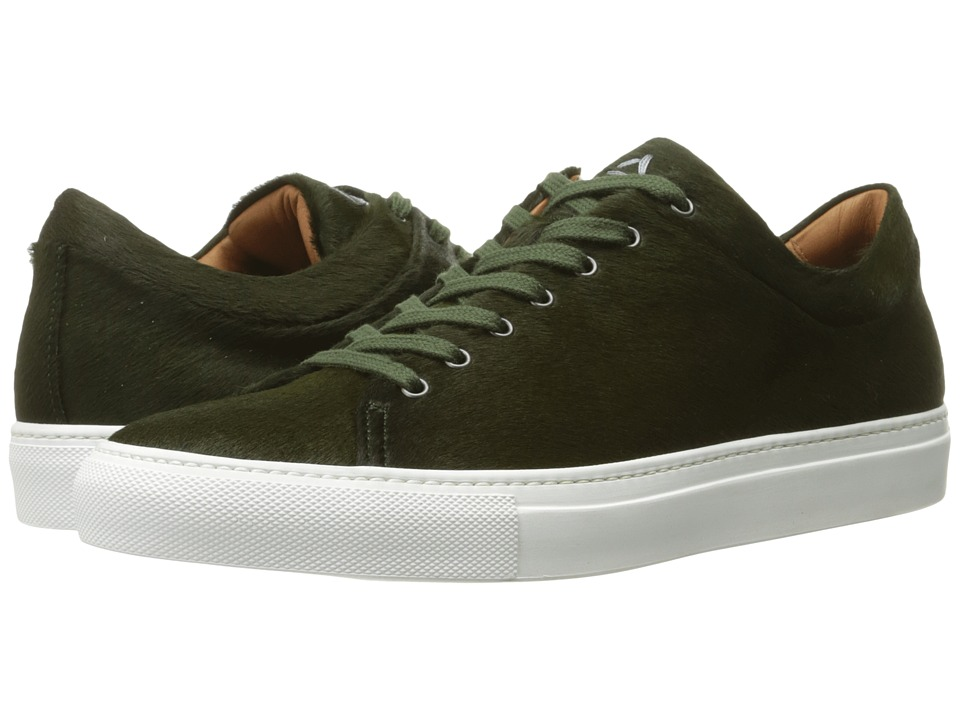 Aquatalia - Benjamin (Dark Green Pony Hair) Men's Shoes