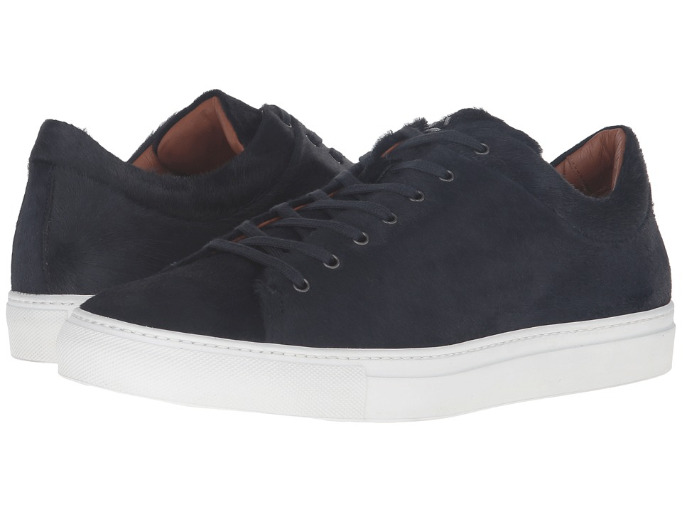 Aquatalia - Benjamin (Navy Pony Hair) Men's Shoes