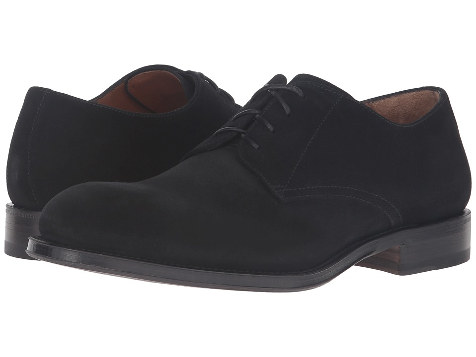 Aquatalia - Vance (Black Suede) Men's Shoes