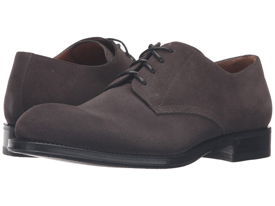Aquatalia - Vance (Charcoal Suede) Men's Shoes
