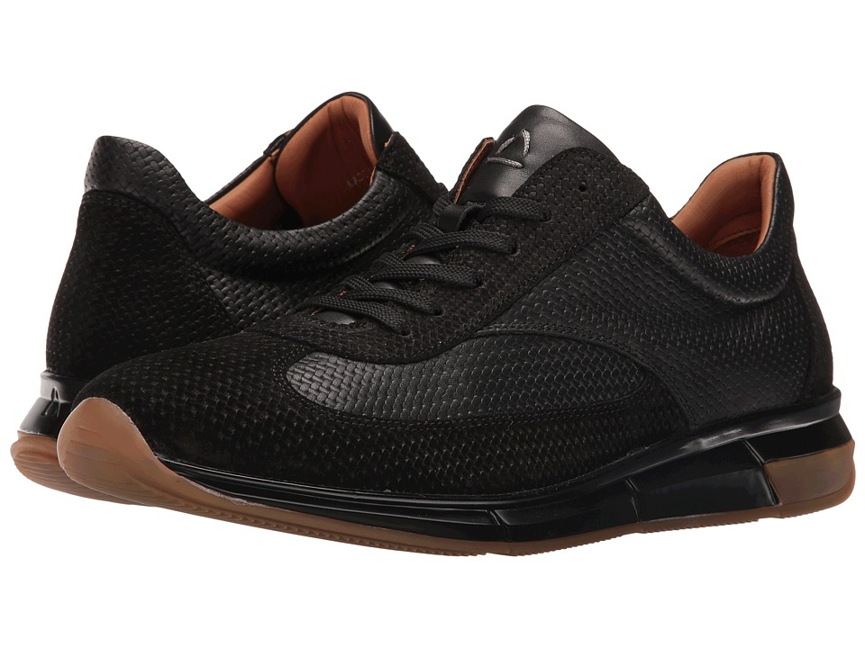 Aquatalia - Zander (Black Woven Calf) Men's Shoes