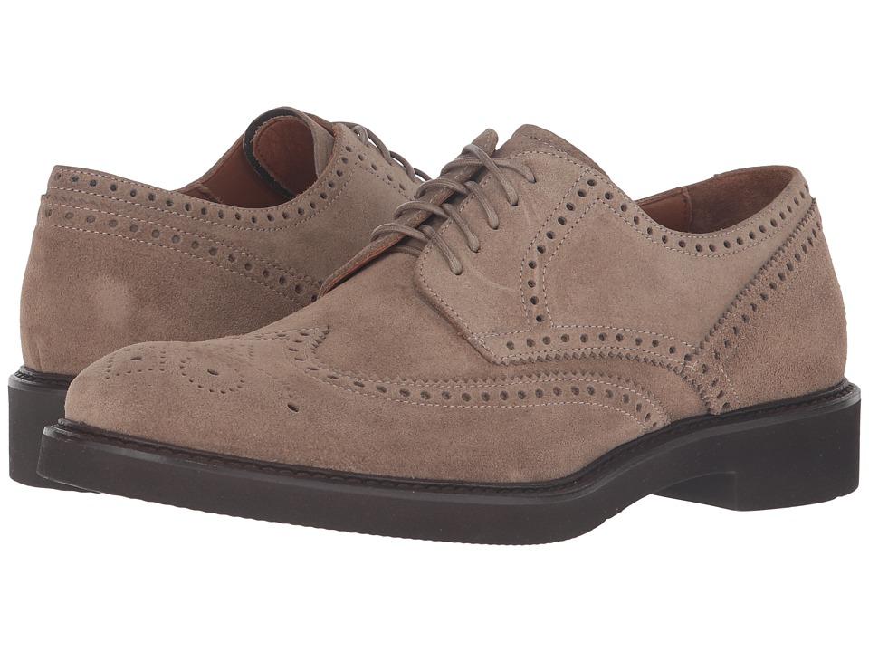 Aquatalia - Trevor (Taupe Suede) Men's Shoes