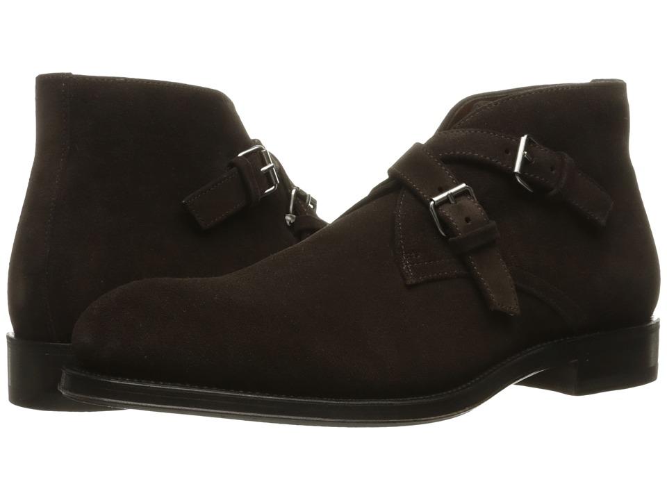Aquatalia - Vaughn (Dark Brown Suede) Men's Shoes
