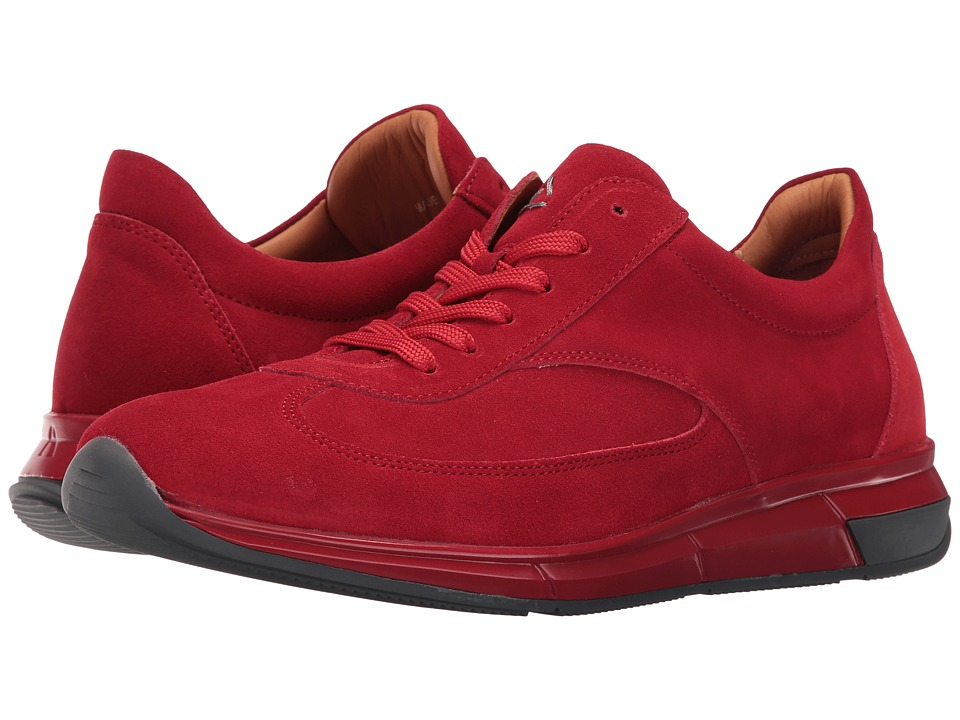 Aquatalia - Zander (Red Suede) Men's Shoes