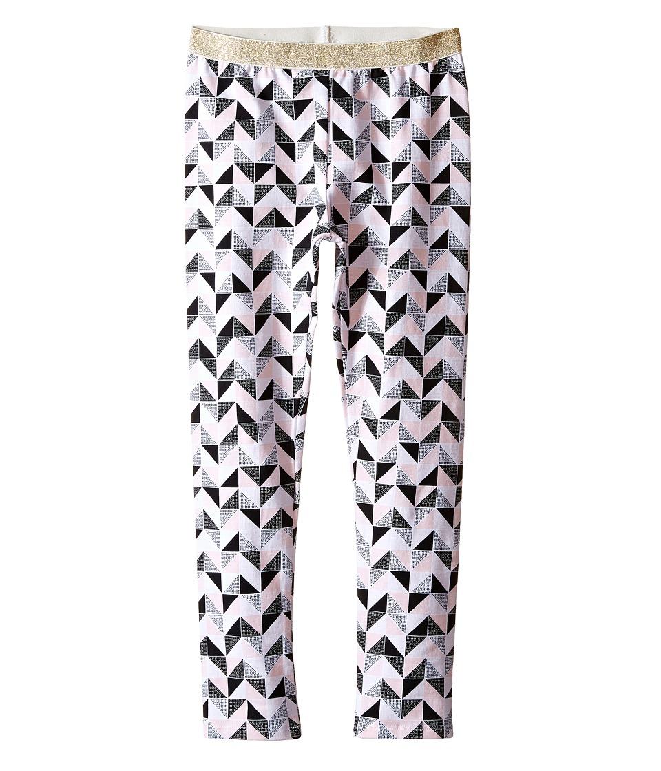 Kardashian Kids - Printed Leggings with Gold Elastic Waist (Toddler/Little Kids) (Print Multi) Girl's Casual Pants