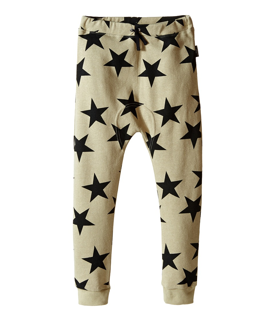 Kardashian Kids - Knit Pants (Toddler/Little Kids) (Star Print/Green/Black) Boy's Casual Pants