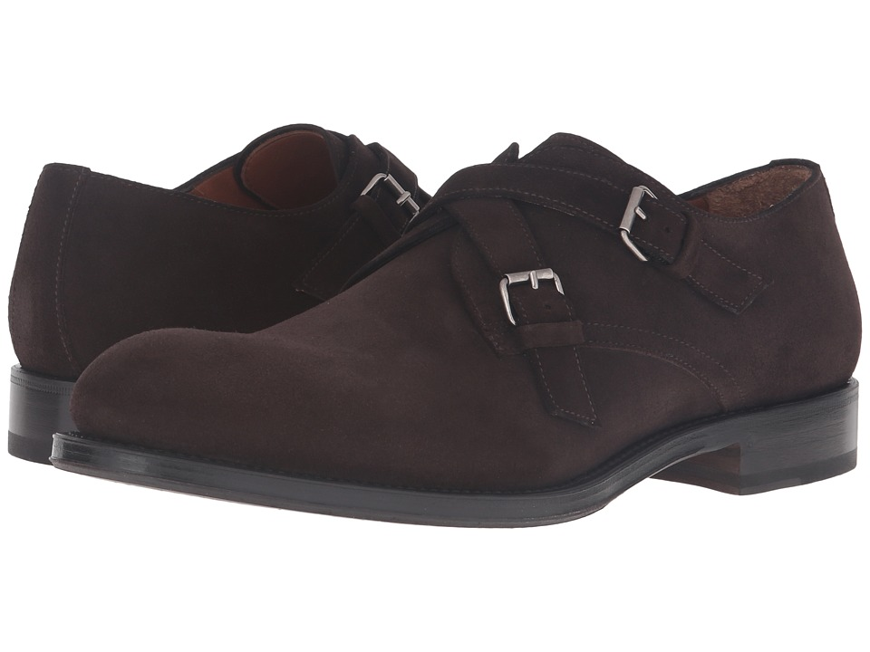 Aquatalia - Vernon (Dark Brown Suede) Men's Shoes