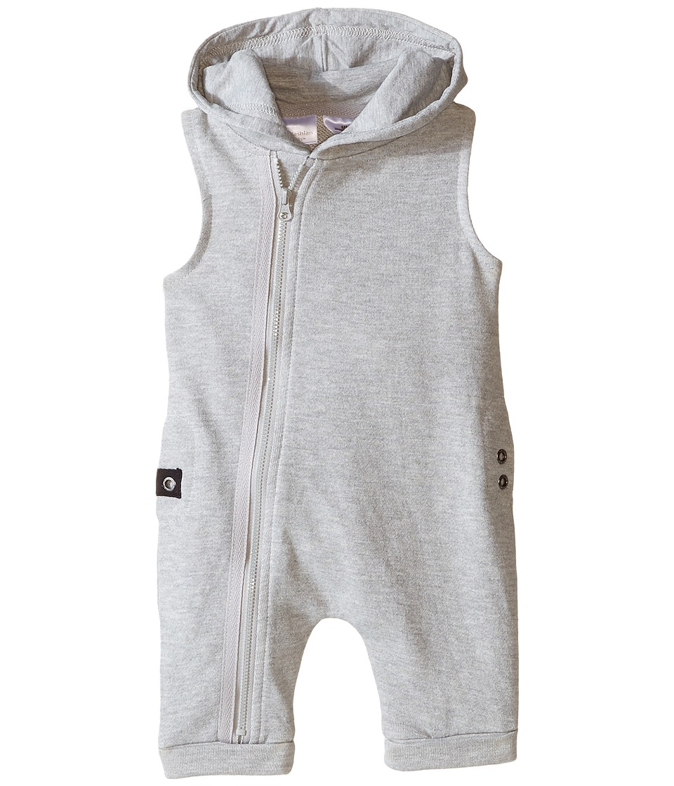 Kardashian Kids - Sleeveless Bodysuit (Infant) (Grey) Boy's Jumpsuit & Rompers One Piece