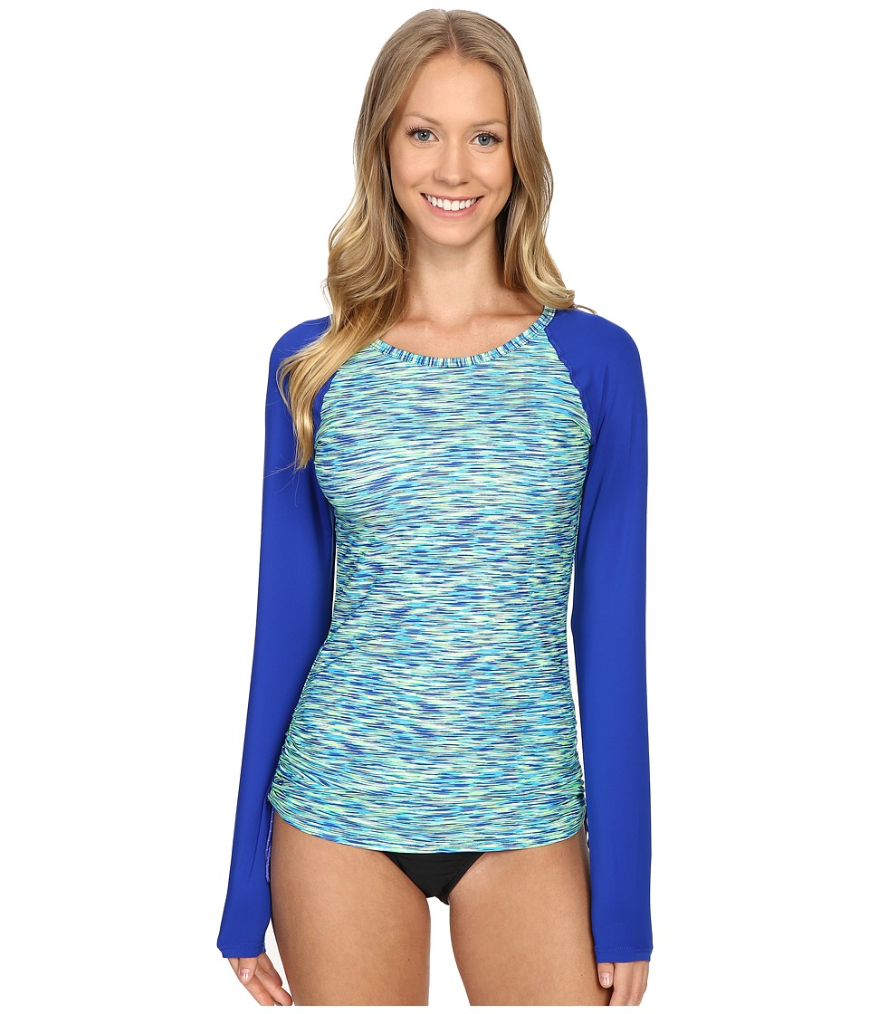 TYR - Sonoma Long Sleeve Swim Shirt (Royal) Women's Swimwear