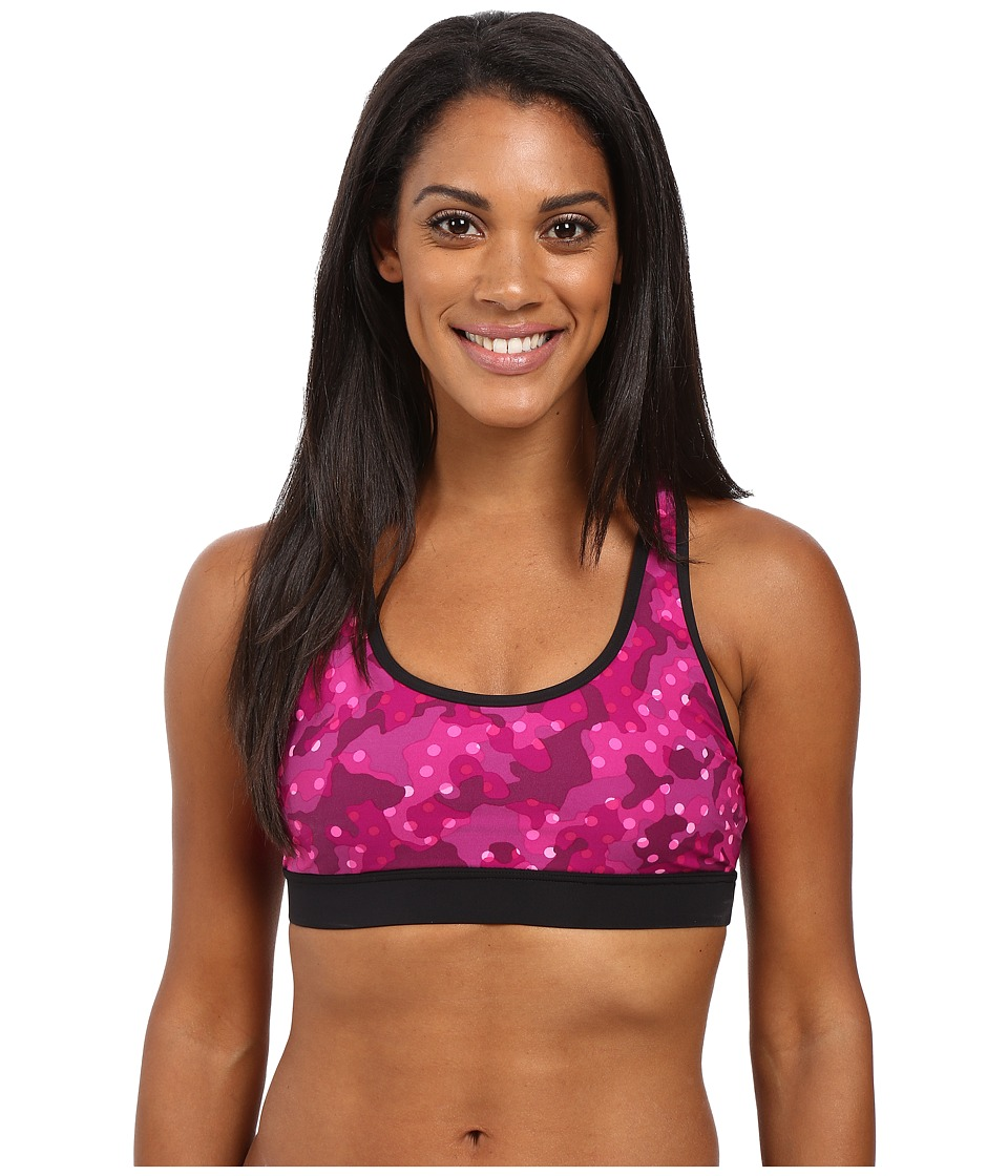 TYR - Cadet Racerback Swim Top (Black/Pink) Women's Swimwear