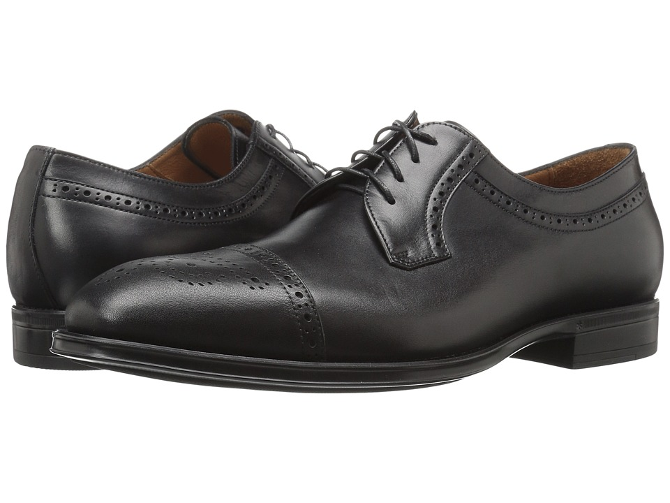 Aquatalia - Duke (Black Dress Calf) Men's Shoes