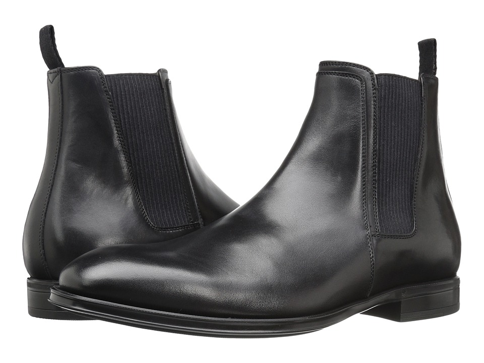 Aquatalia - Damon (Black Dress Calf) Men's Shoes