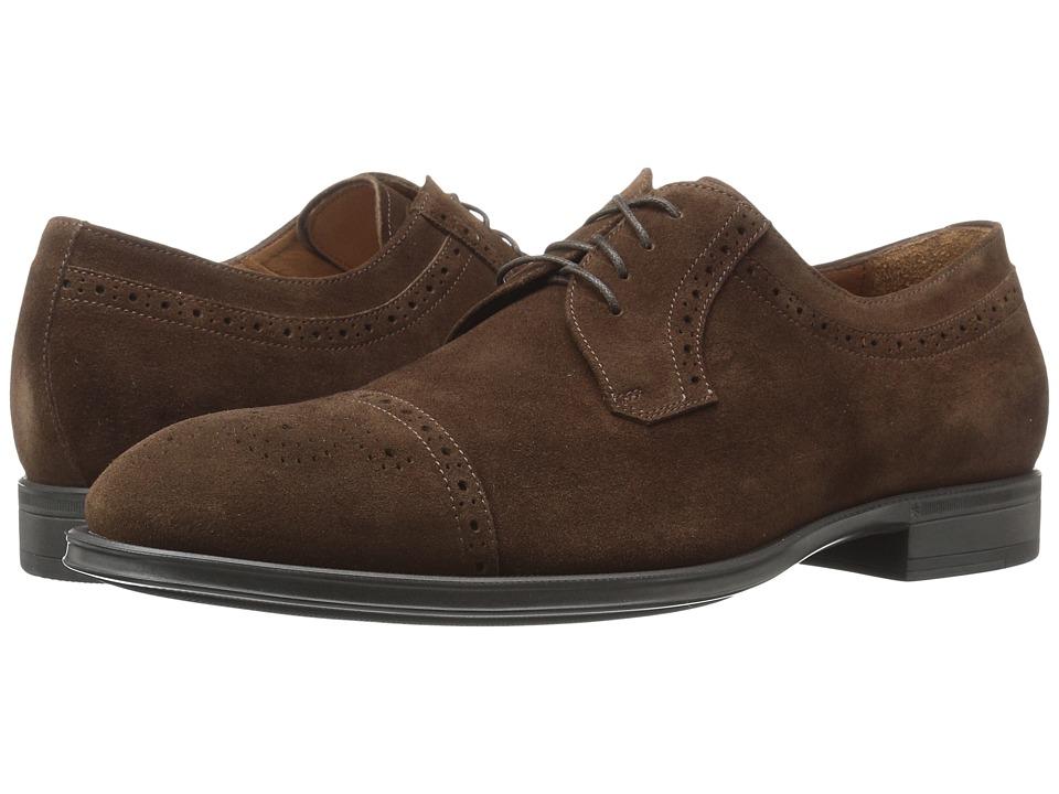 Aquatalia - Duke (Rusty Brown Dress Suede) Men's Shoes
