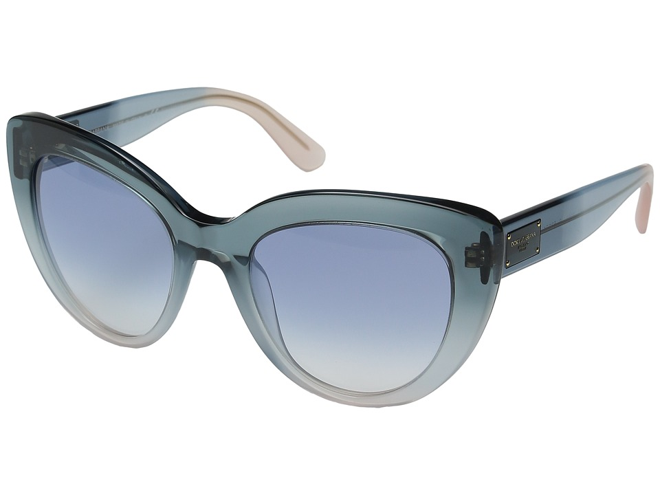 Dolce & Gabbana - DG4287 (Blue Gradient/Azure/Powder/Blue Gradient) Fashion Sunglasses