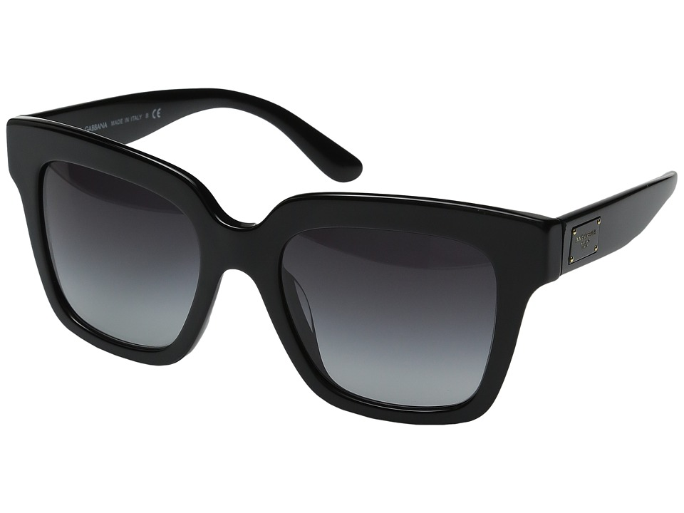 Dolce & Gabbana - DG4286F (Black/Grey Gradient) Fashion Sunglasses