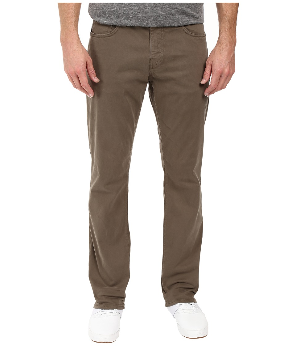 Mavi Jeans - Myles Casual Straight in Dusty Olive Twill (Dusty Olive Twill) Men's Jeans