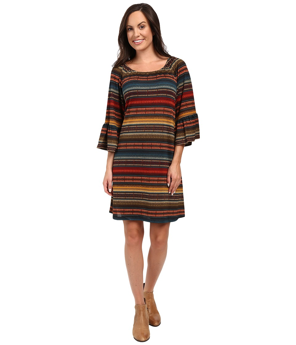 Double D Ranchwear - Les Gauchos Dress (Multi) Women's Dress