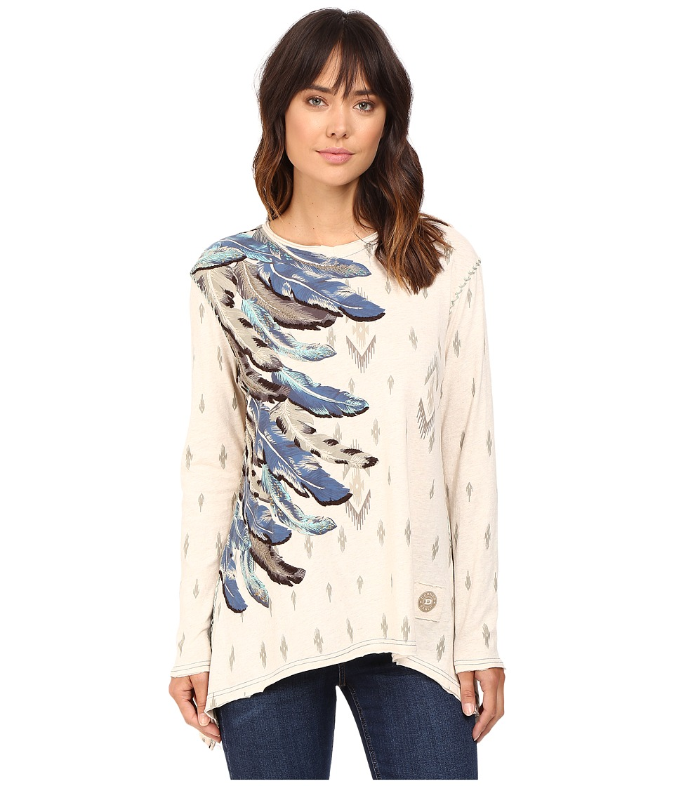 Double D Ranchwear - Falcon Feather Top (String) Women's Clothing