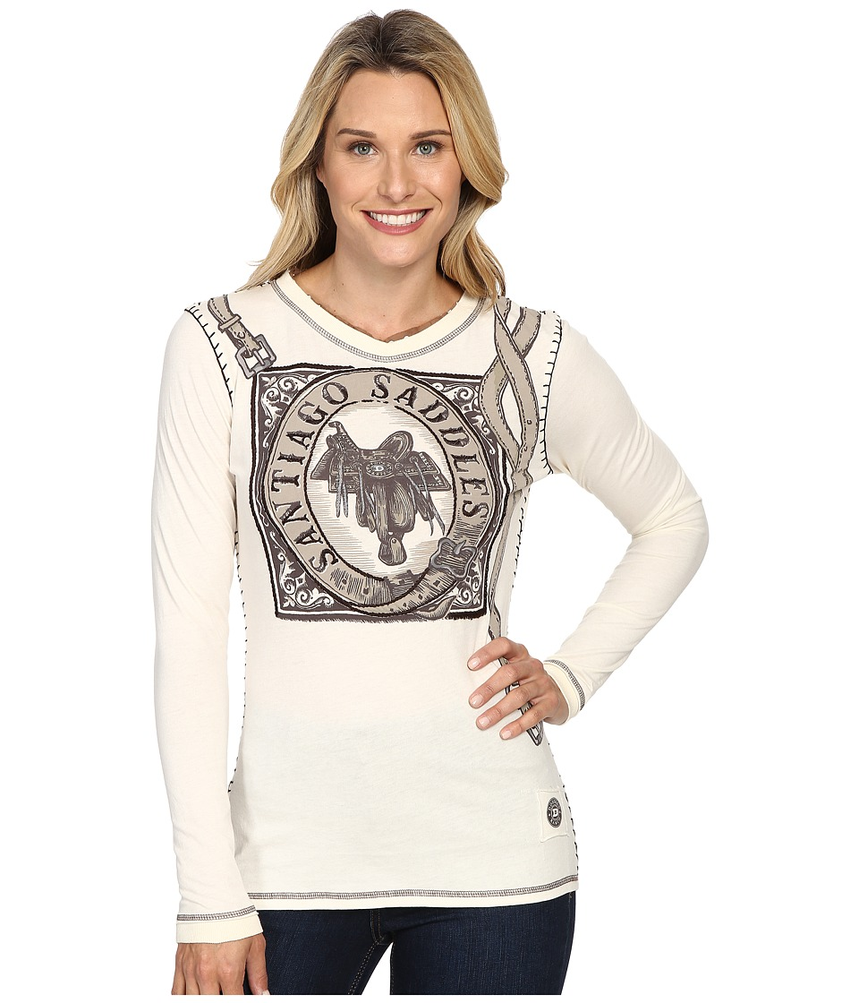 Double D Ranchwear - Santiago Saddles Tee (String) Women's T Shirt
