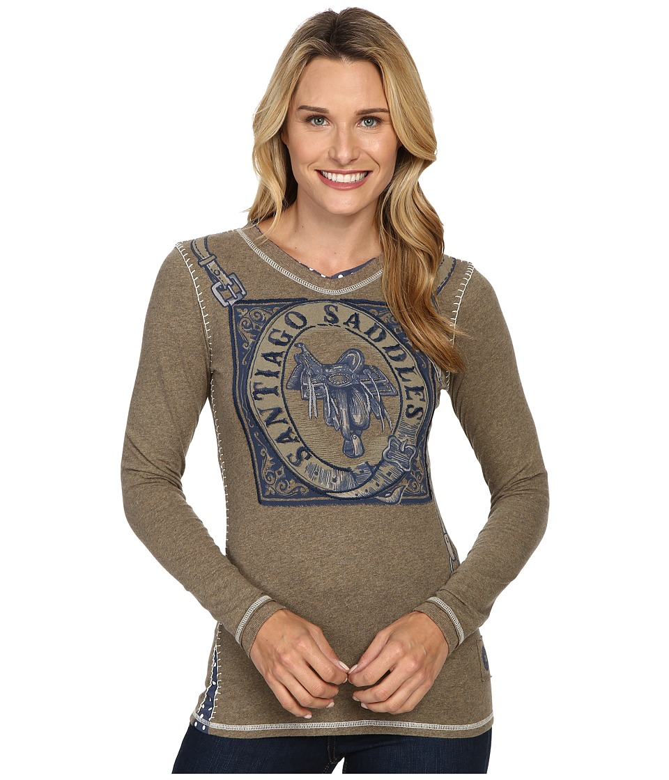 Double D Ranchwear - Santiago Saddles Tee (Riata) Women's T Shirt