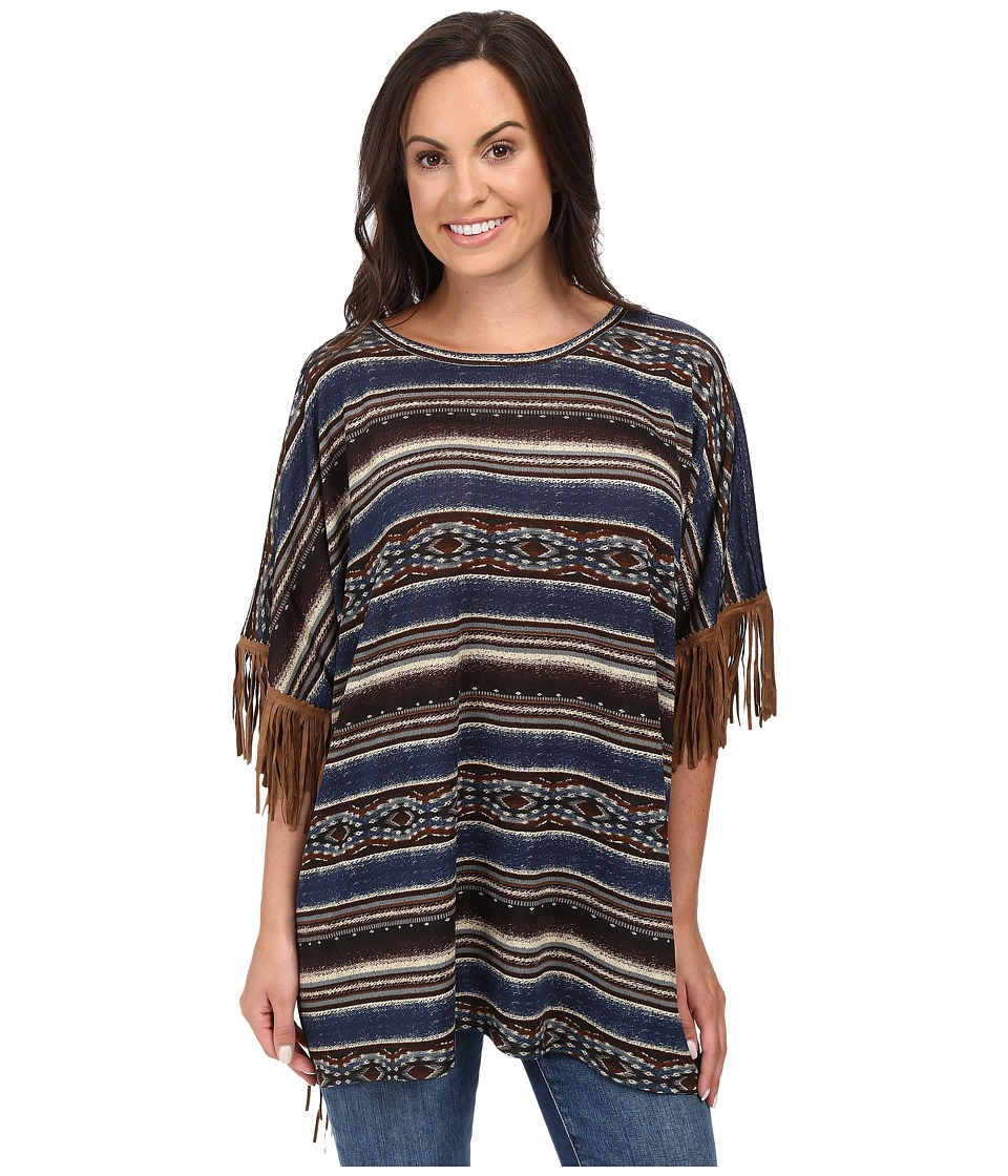 Double D Ranchwear - Mi Tierra Top (Multi) Women's Clothing