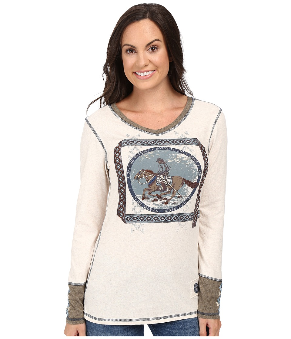 Double D Ranchwear - Gaucho and His Horse Tee (String) Women's T Shirt