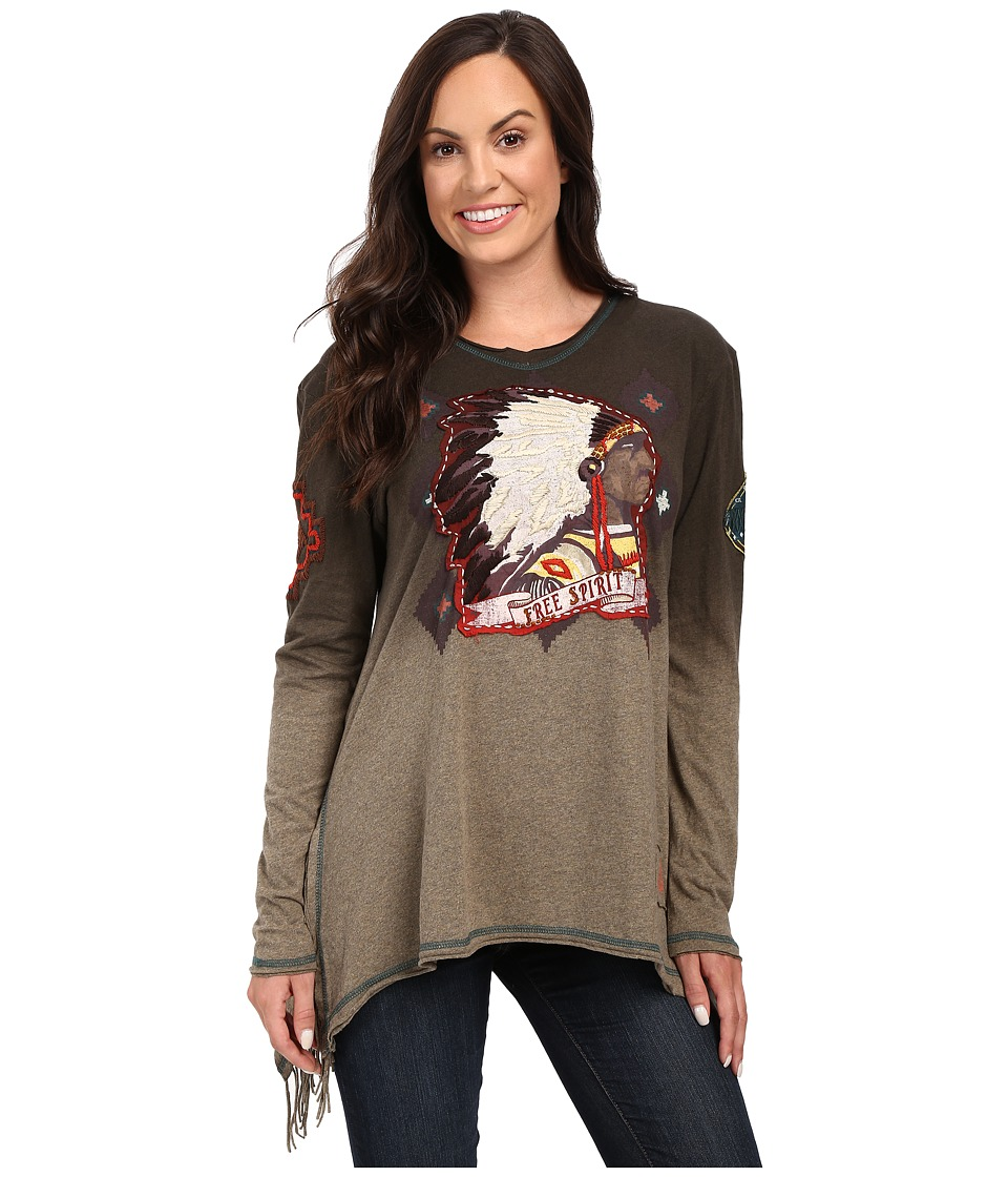 Double D Ranchwear - Free Spirit Top (Riata) Women's Clothing