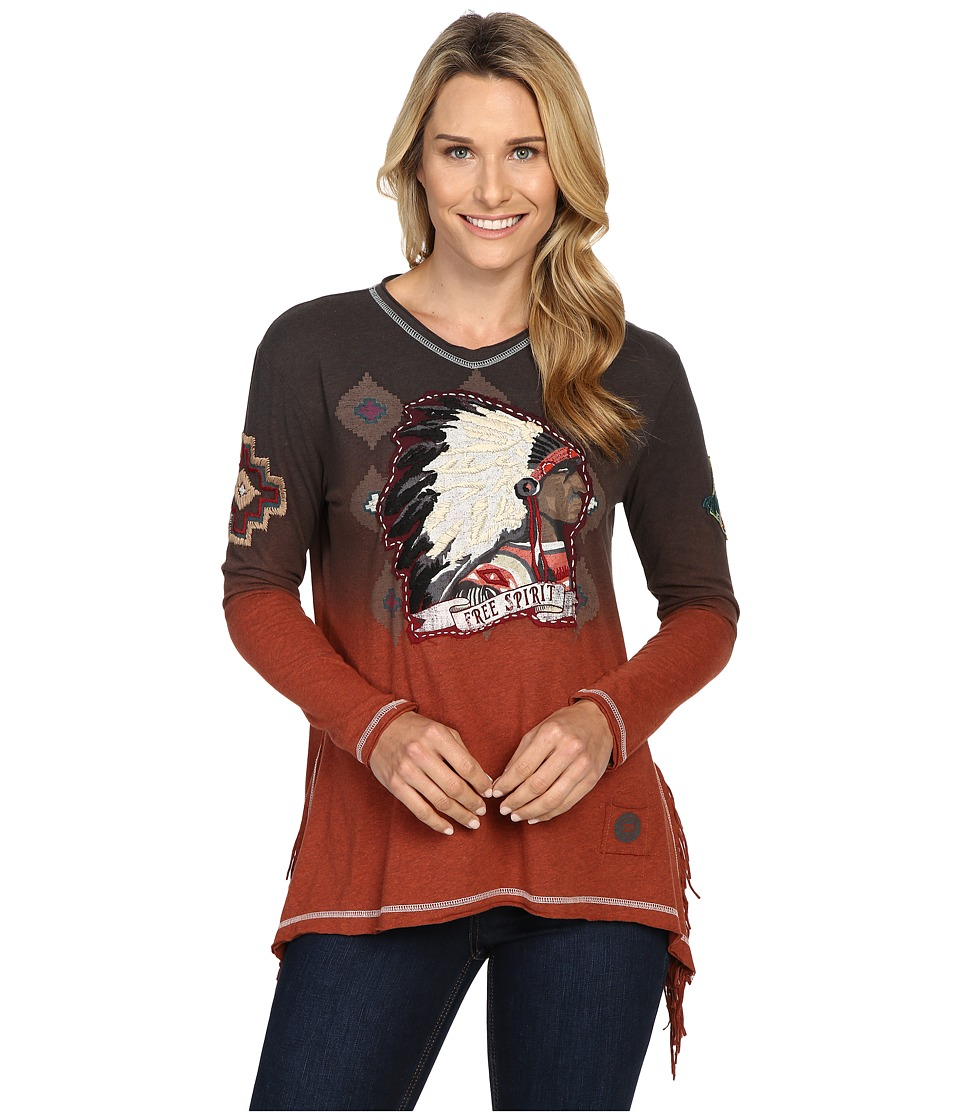 Double D Ranchwear - Free Spirit Top (Spitfire) Women's Clothing