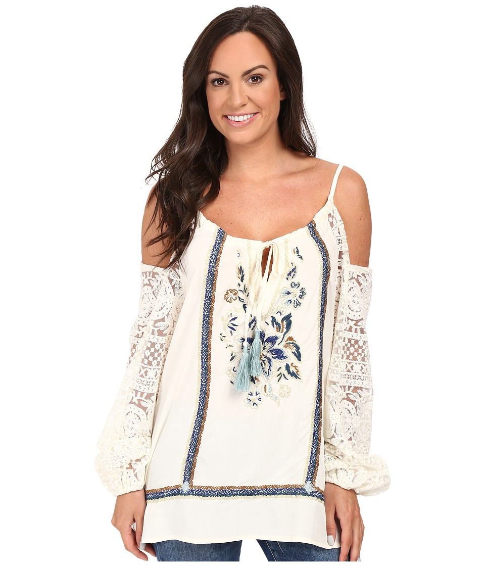 Double D Ranchwear - Paloma Peasant Top (String) Women's Clothing