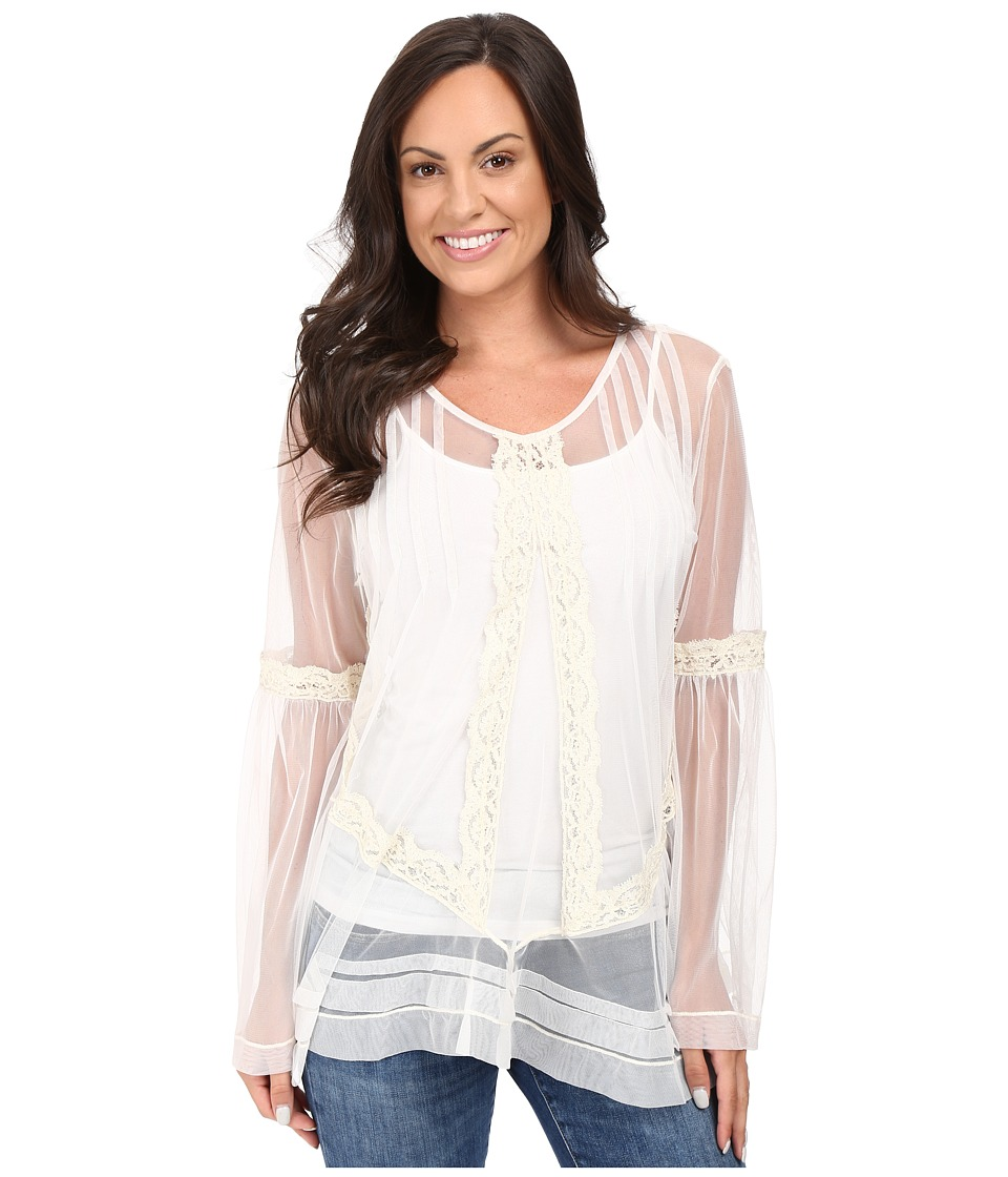 Double D Ranchwear - La Boca Top (String) Women's Clothing