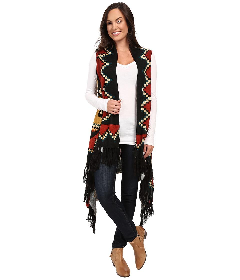Double D Ranchwear - Montana Magica Vest (Multi) Women's Vest