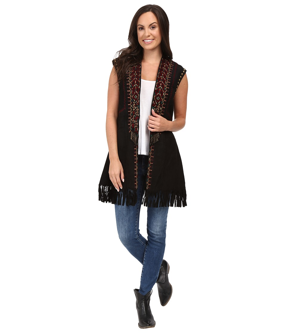 Double D Ranchwear - Mar Del Plata Vest (Black) Women's Vest