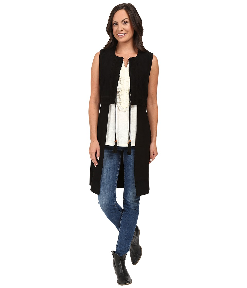 Double D Ranchwear - Castellano Vest (Black) Women's Vest