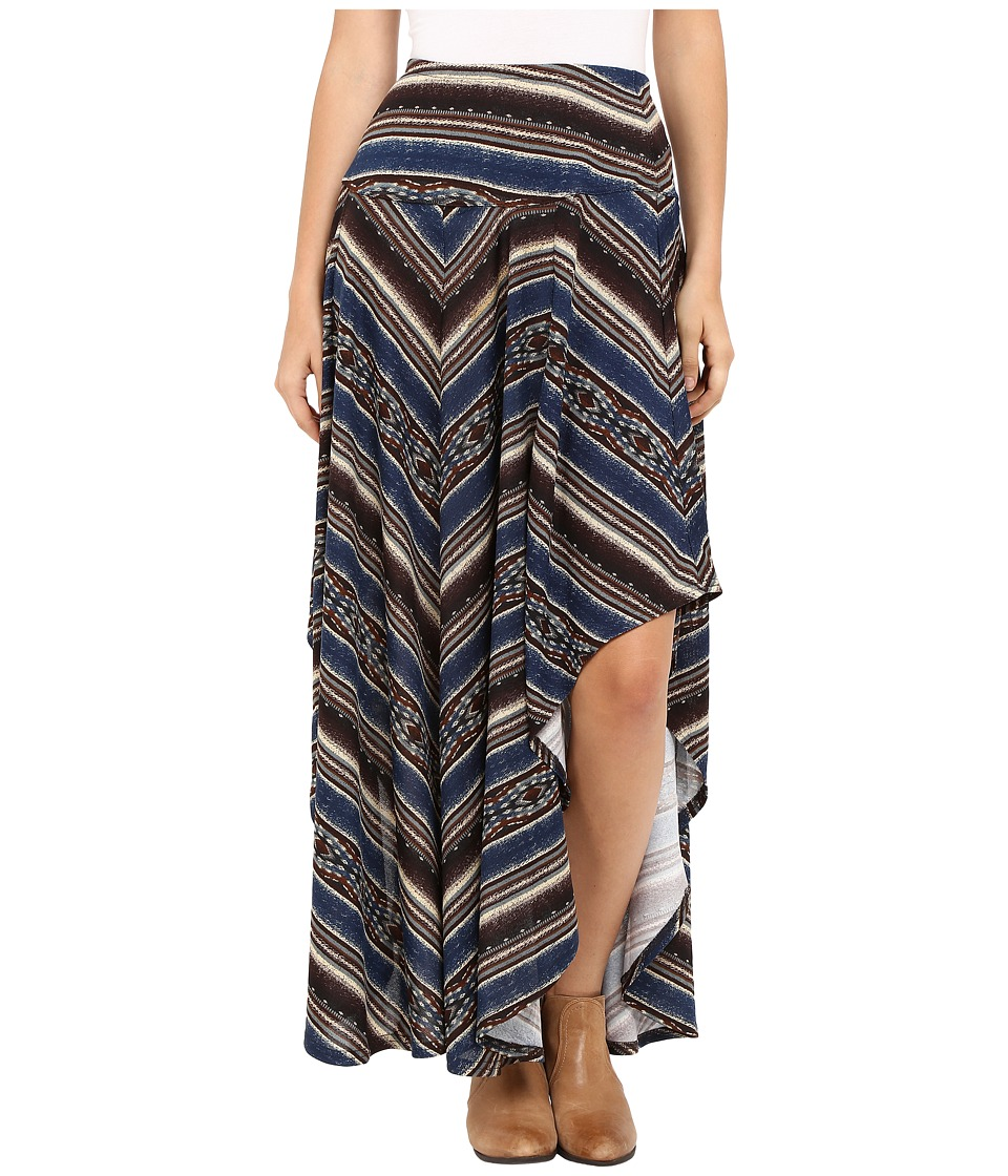 Double D Ranchwear - Mi Tierra Long Skirt (Multi) Women's Skirt