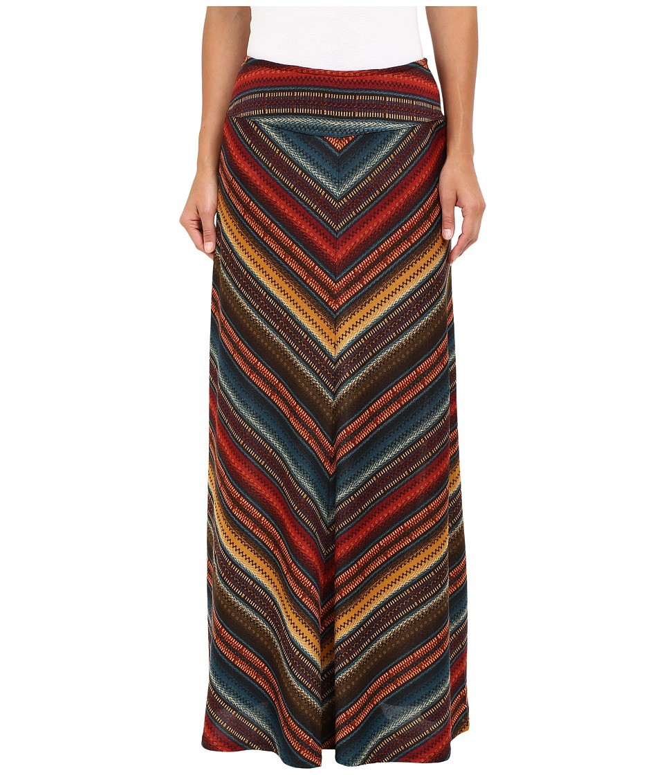 Double D Ranchwear - Les Gauchos Maxi Skirt (Multi) Women's Skirt