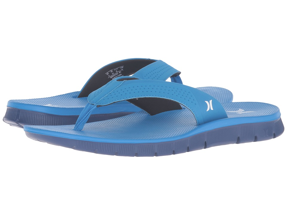 Hurley - Fusion Sandal (Light Photo Blue) Men's Sandals