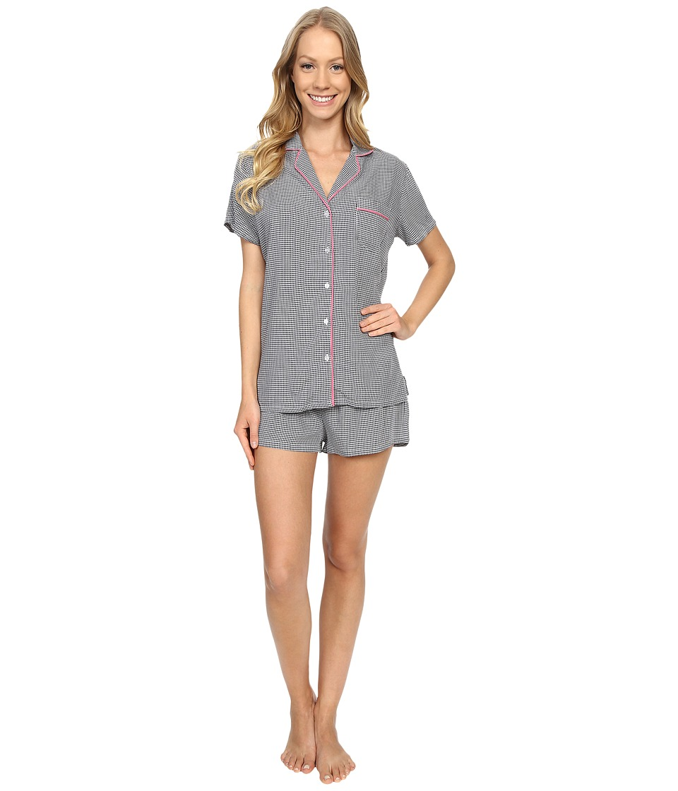 Splendid - Classic PJ Set (Mini Checkers) Women's Pajama Sets