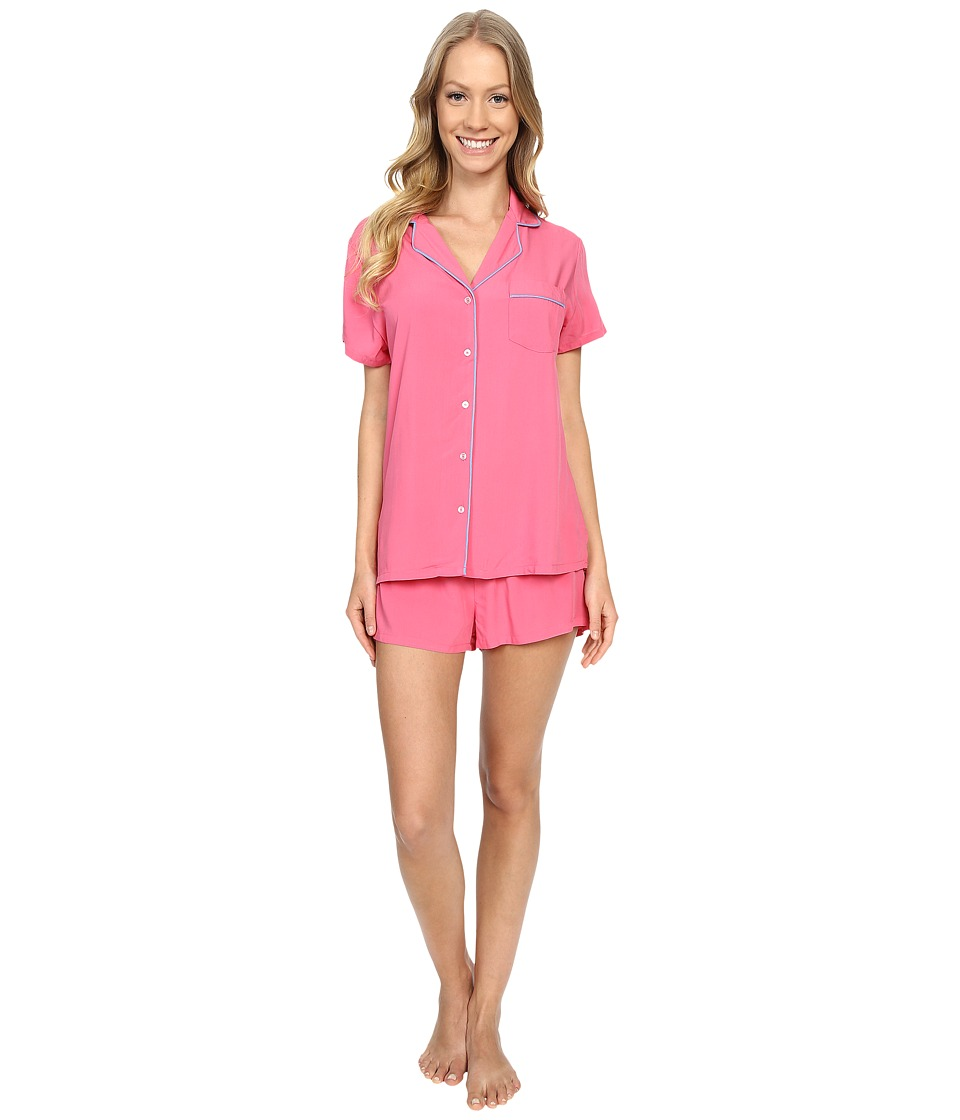 Splendid - Classic PJ Set (Pink Parfait) Women's Pajama Sets